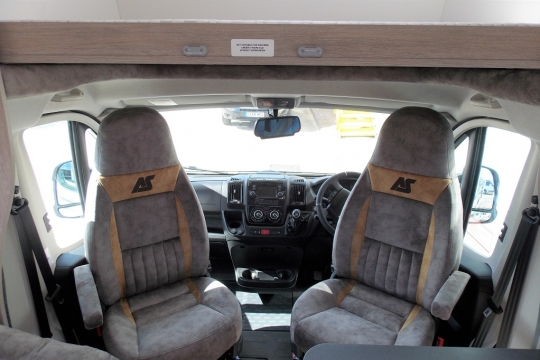 Internal Captain seats