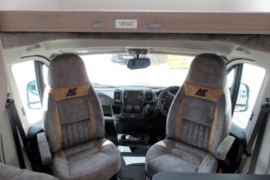 Internal Captain seats